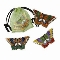 Cloisonne Butterfly Magnets Set of 3