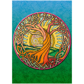 Greeting Card - Celtic Tree of Life