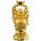 Gold - Happy Buddha Figurine