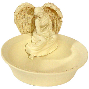 Angel Worry Stones Bowl