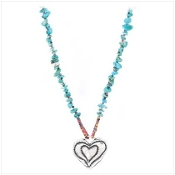 Turquoise Sweetheart Necklace
