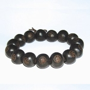 Buddha Beads Black/Brown