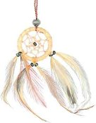 Small Natural Dreamcatcher Pack of Six