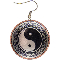Earrings Copper - Yin-Yang